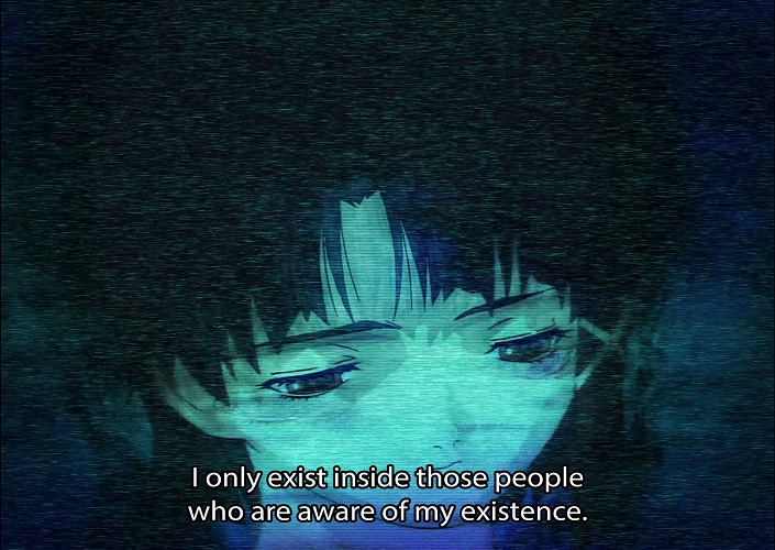 Lain exists in those who are aware of her