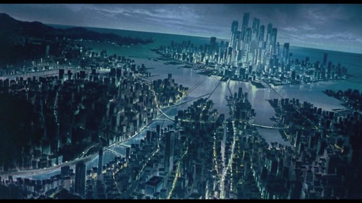 City sprawl network