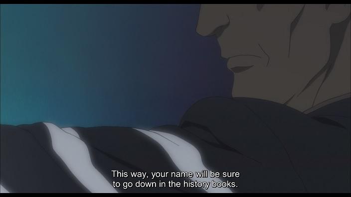 A conspirator killing Nanao-A.