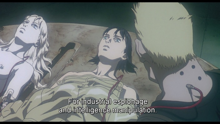 Explanation Of The Ghost In The Shell Movie 1995 Anime Thoughts